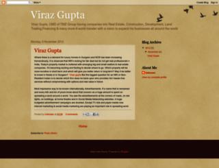 viraz-gupta.blogspot.com screenshot