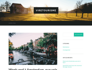 vire-tourisme.com screenshot
