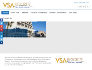 virginia-beach-resorts.com screenshot