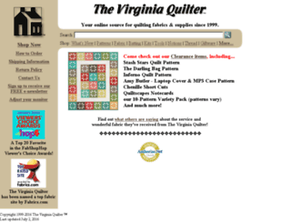 virginiaquilter.com screenshot
