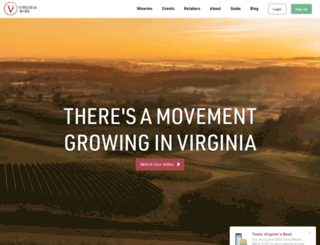 virginiawine.org screenshot