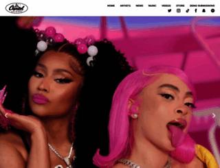 virginrecords.com screenshot