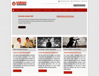 virgotechnologies.in screenshot