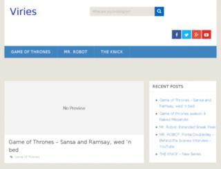 viries.com screenshot