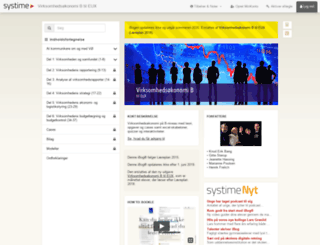virksomhedeux.systime.dk screenshot