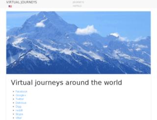 virtual-journeys.com screenshot