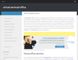 virtual-serviced-office.com screenshot