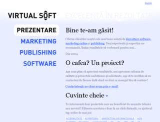 virtual-soft.ro screenshot