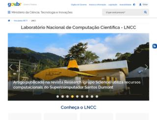 virtual01.lncc.br screenshot