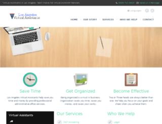 virtualassistantsinlosangeles.com screenshot