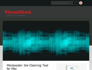 virtualbiotk.com screenshot