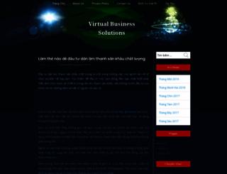 virtualbusinesssolutions.biz screenshot