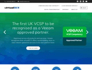 virtualdcs.co.uk screenshot