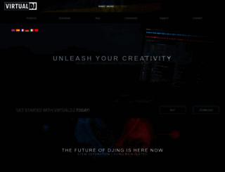 virtualdj.com screenshot