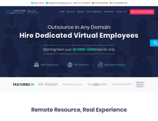 virtualemployee.com screenshot