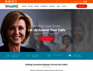 virtualheadquarters.com.au screenshot