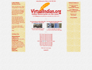 virtualindian.org screenshot