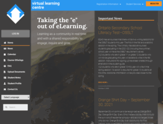 virtuallearning.ca screenshot