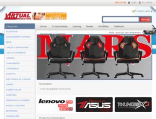 virtualmegastore.es screenshot