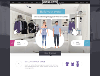 virtualoutfits.com screenshot