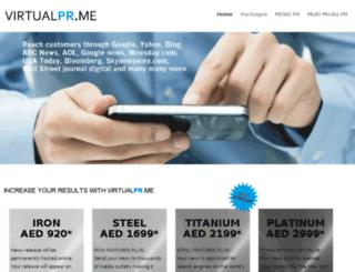 virtualpr.me screenshot