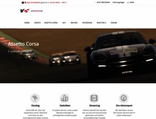virtualracing.org screenshot