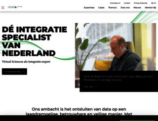 virtualsciences.nl screenshot