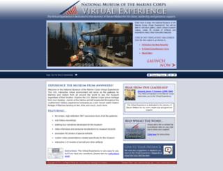 virtualusmcmuseum.com screenshot