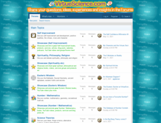 virtuescience.com screenshot
