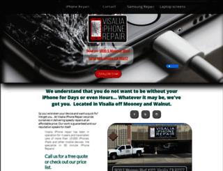 visaliaiphonerepair.net screenshot