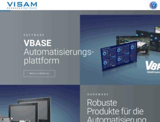 visam.de screenshot