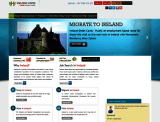 visas2ireland.com screenshot