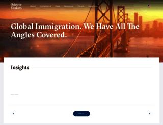 visatrax.com screenshot