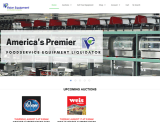 visionequipment.com screenshot