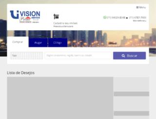 visionimoveis.com.br screenshot