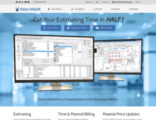 visioninfosoft.com screenshot