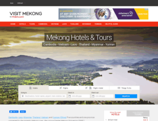 visit-mekong.com screenshot