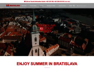 visit.bratislava.sk screenshot