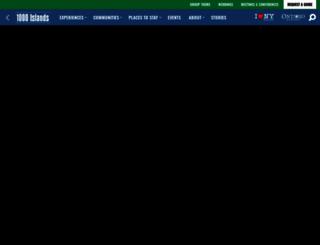 visit1000islands.com screenshot