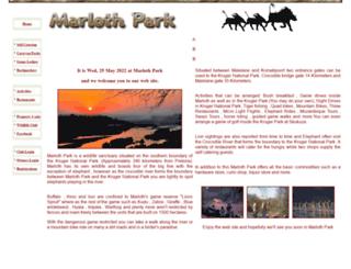 visitafrica.co.za screenshot