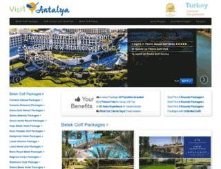 visitantalya.com screenshot