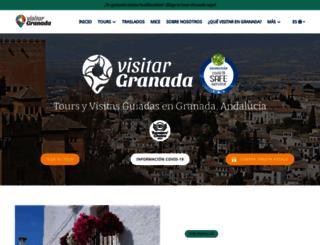 visitargranada.com screenshot