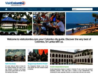 visitcolombo.com screenshot