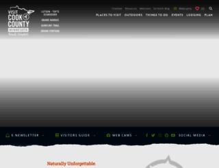 visitcookcounty.com screenshot