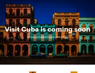 visitcuba.com screenshot