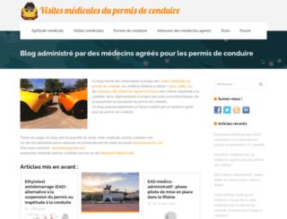 visite-medicale-permis-conduire.org screenshot