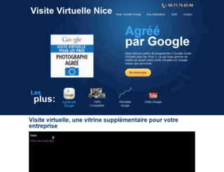 visite-virtuelle-nice.com screenshot