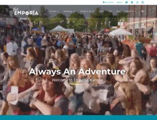 visitemporia.com screenshot