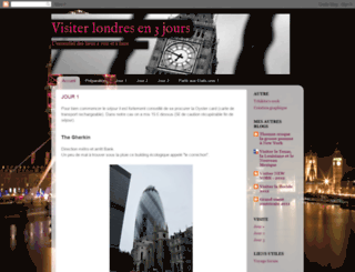 visiterlondresen3jours.blogspot.fr screenshot