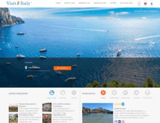 visititaly.com screenshot